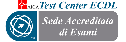 Logo test center aica